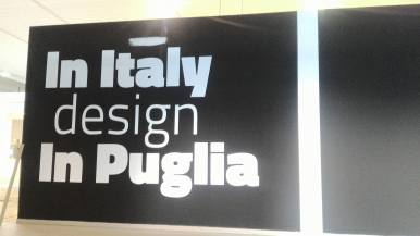 In Italy, Design In Puglia, fiera del Levante 2016