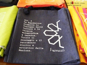"Shopping Bag ""La Costituzione"" design by Valentina De Carolis"