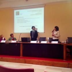 La presentazione della Segretaria della Delegazione Fai di Brindisi Marialucrezia Colucci