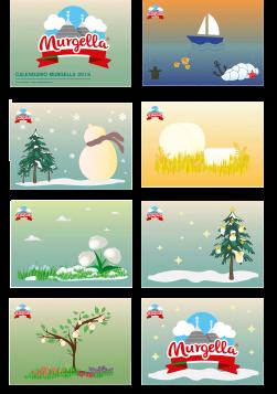Calendario Murgella 2016_graphic by Valentina De Carolis