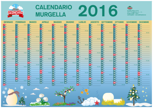 Calendario Murgella 2016_graphic by Valentina De Carolis