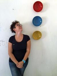 Valentina De Carolis designer. Ciotole Dettali_Minareto — con Valentina De Carolis presso Selva Di Fasano, Puglia, Italy.