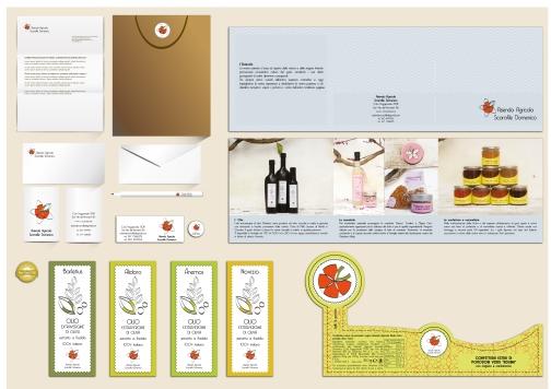 Brand Identity Azienda Agricola Scarafile, art director Valentina De Carolis