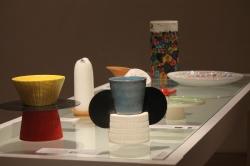 """""""Jidd e Jedd"""" Designer Michele Sallustio e Arianna Vivenzio. Fibra di carbonio e ceramica realizzati da GiùInLab di Anna Dibello e Giambattista Giannoccaro"""