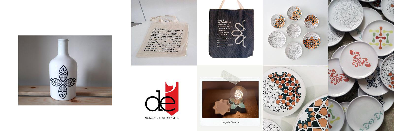 ceramics, Valentina De Carolis